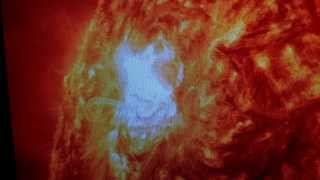 """Massive Solar Flares Shut Down Sweden Airports"""