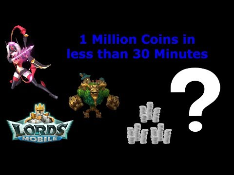 Get 1 Million Guild Coins In 30 Minutes.