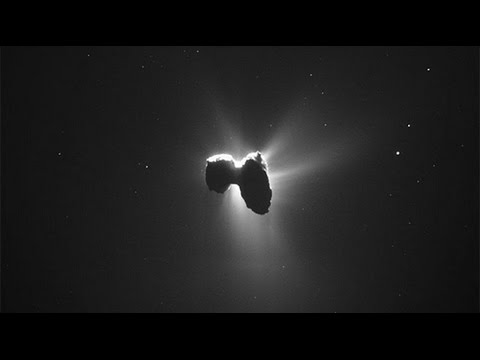 It's the final touchdown: Rosetta spacecraft crashes into comet after 12 years