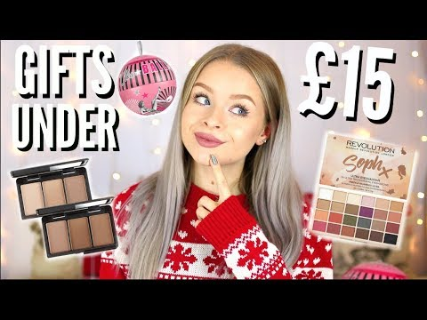CHRISTMAS GIFT GUIDE UNDER £15!! | sophdoesnails
