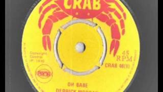 derrick morgan - oh babe - crab records 1970  -  funky boss reggae