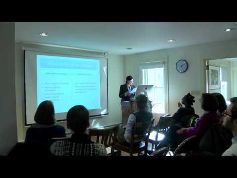 Social Media Use & Women's Empowerment in a Hostile Environment - Nermeen Kassem - FCWSRC [3/27/14]