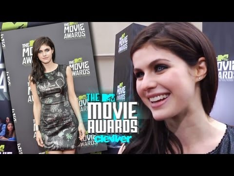 Alexandria Daddario Talks 'Percy Jackson' - 2013 MTV Movie Awards Interview