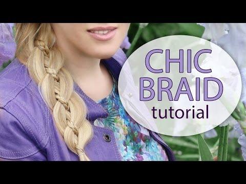 4 strand braid hairstyle tutorial for long hair