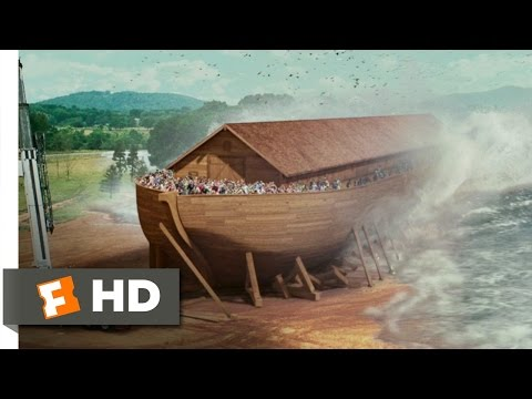Evan Almighty 910 Movie   The Flood Comes 2007 HD