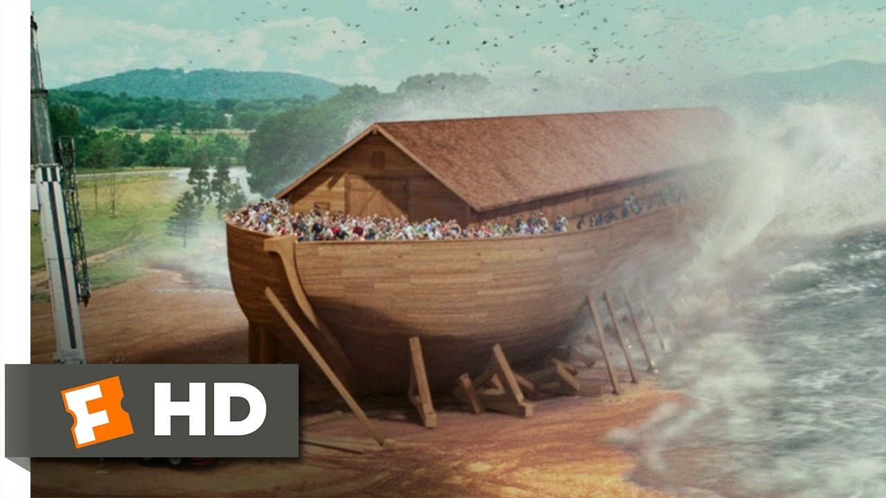 Evan Almighty 910 Movie Clip The Flood Comes 2007 Hd Youtube