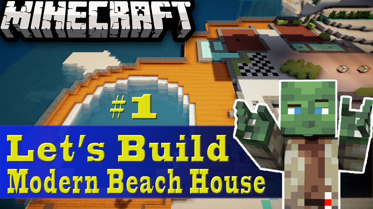 Minecraft lets build modern house 28 images minecraft for Modern house 18x18