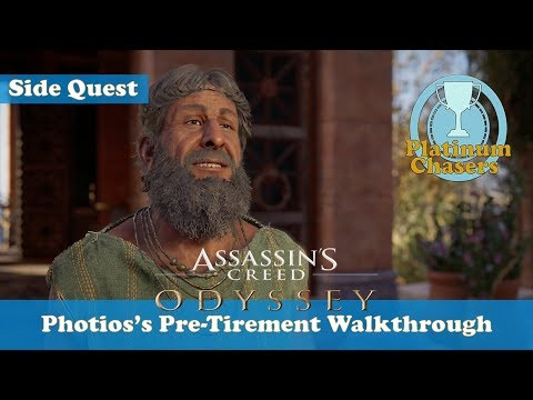 Photios's Pre-Tirement - Side Quest - Assassin's Creed: Odyssey