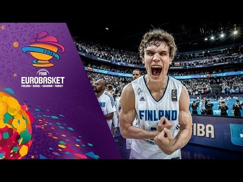 Lauri Markkanen (23 points) leads Finland to another victory!