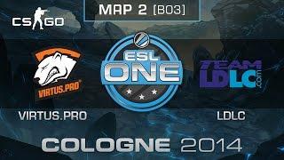 Virtus.pro vs. Team LDLC (Map 2) - ESL One Cologne 2014 - Quarterfinals - CS:GO