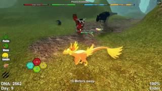 Roblox: Dinosaur simulator | Phoenix achillobator