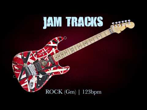 Rock Guitar Backing Track (Gm) | 129 Bpm
