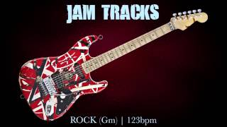 Rock Guitar Backing Track (Gm) | 129 Bpm