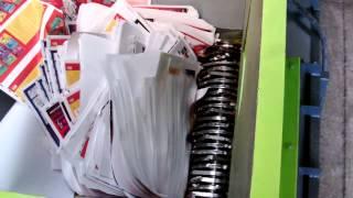Large Paper sheets Axo Shredder