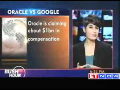 Oracle vs Google suit over Android begins