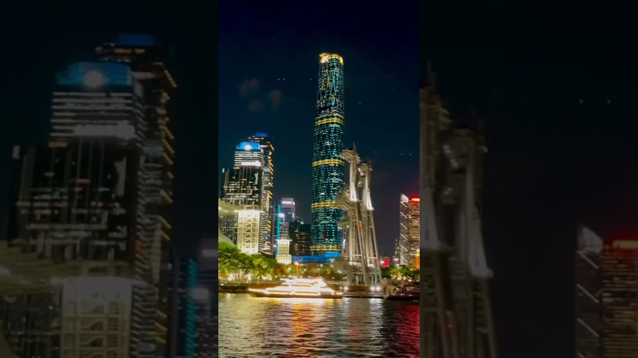 Umpteenth #Guangzhou river cruise - but the city's skyline never ceases to amaze me...
