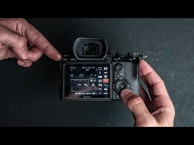 Sony A7iii - How to set it up for Photo + Video