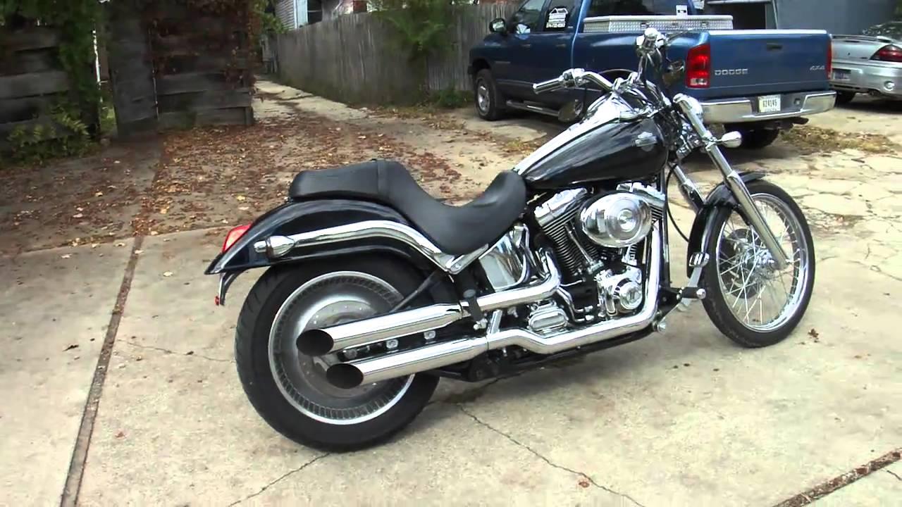 2002 Harley Davidson Softail Deuce  YouTube