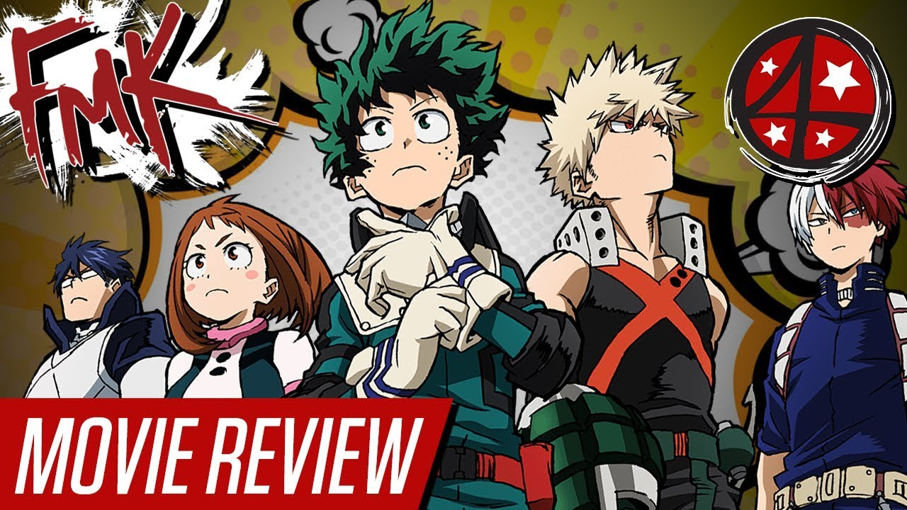 My Hero Academia Two Heroes Anime Fmk At The Movies Youtube
