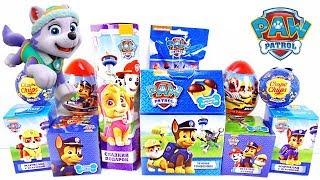 ЩЕНЯЧИЙ ПАТРУЛЬ Mix! СЮРПРИЗЫ, игрушки, мультсериал PAW PATROL Sweet Box, Kinder Surprise unboxing