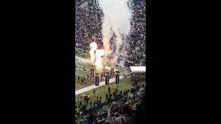 Seattle Seahawks introduction at Century link stadium 2017