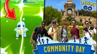 THE POKÉMON EVERYONE HAS BEEN WAITING FOR in Pokémon GO! (Shiny Squirtle Squad Community Day)