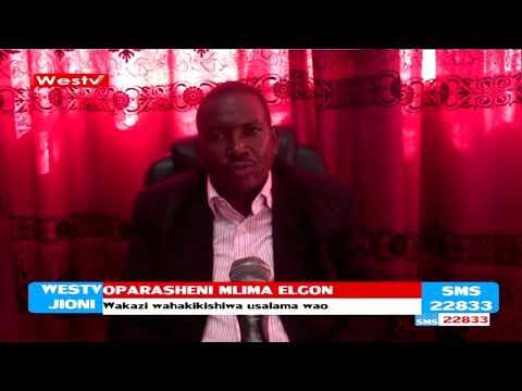 Oparesheni ya usalama Mlima Elgon