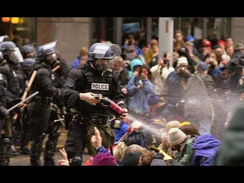 ANTIFA Hamburg G20 Vs  Seattle WTO 1999: I WAS THERE