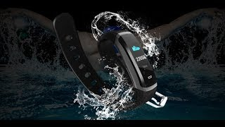 Makibes HR3 Smart Bracelet with Monitor Health Fitness Tracker Smart Band Call Reminder