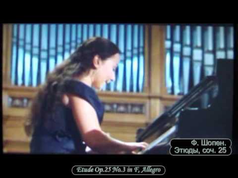 Dinara Klinton (Russia). XIV Tchaikovsky Competition