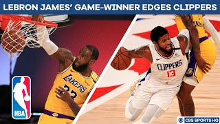 The lakers and clippers came into thursday having already fought three heavyweight bouts, but round 4 was closest one yet. opened up a 13-poin...