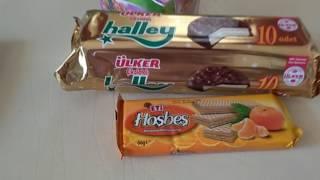 Обзор : Турецкие сладости и не много турецких продуктов-еда