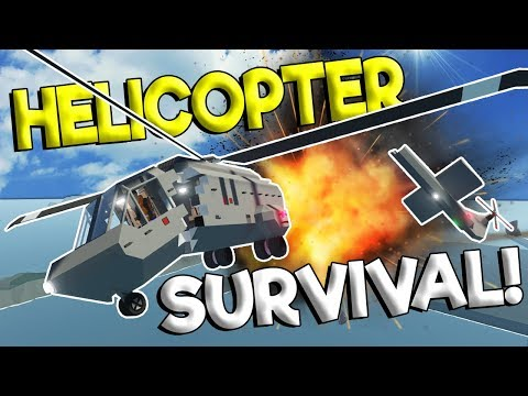 MULTIPLAYER HELICOPTER CRASH & EXPLOSION SURVIVAL! - Stormworks: Build And Rescue Gameplay Survival