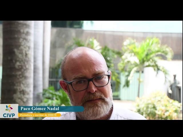 Paco Gómez Nadal: Cartografía de la Desaparición Forzada en Colombia
