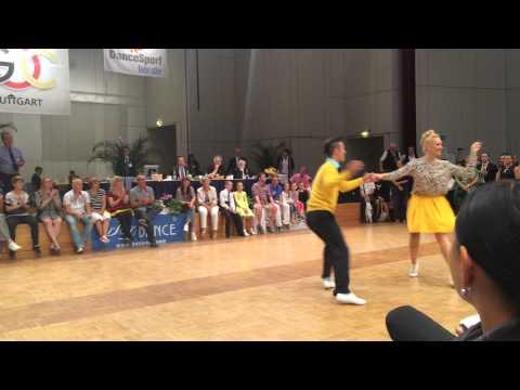 World Championship Boogie Woogie 2015   Heat 4 Tobias & Lara