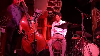 "Yasukazu Kanoh ""Somewhere Over the Rainbow"" shinobue with jazz band @ Lazybones 2018-01-21"