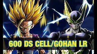 Invocation 600 DS Cell et Gohan LR !!! | DBZ DOKKAN BATTLE