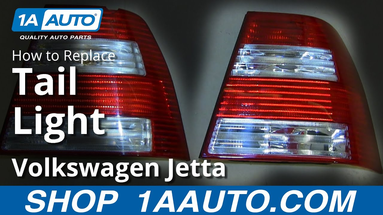 How to Replace Tail Light 04-07 Volkswagen Jetta