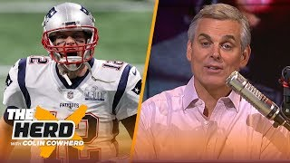 Colin Cowherd compares careers of MJ & Tom Brady, rationalizes Lakers selling farm for AD | THE HERD