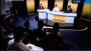 The Holy Prophet Muhammad (saw) is the last law bearing prophet-persented by khalid Qadiani.flv