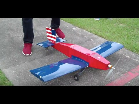AIAA UCF Aviation Design 14-15 Red/White/Blue Takeoff, Flight, Landing