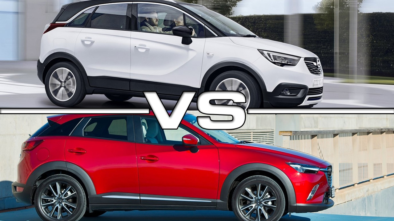 mazda cx 5 vs opel mokka