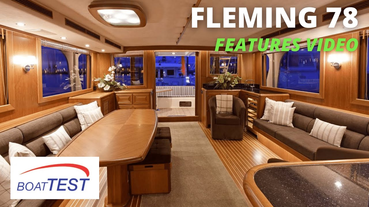 Download Fleming Yachts 78 (2021) - Features Video