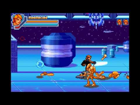 Star Wars Episode Iii Revenge Of The Sith Gameboy Advance Gameplay 01 Youtube