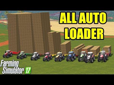 Farming Simulator 17 | ALL AUTO LOADER TRAILER - OMG!!! AMAZING CAPACITY