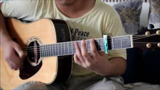 イマココ  月がきれいOP - 東山奈央 [ Fingerstyle Guitar Cover ]