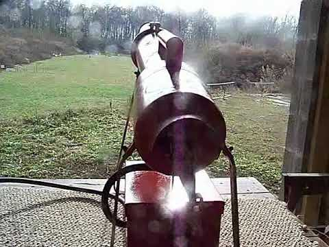 Zon Bird Cannon Firing