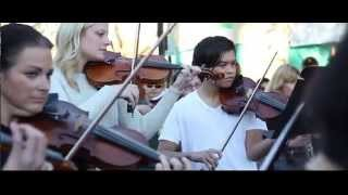Flash Mob Orchestra at Street Food Festival