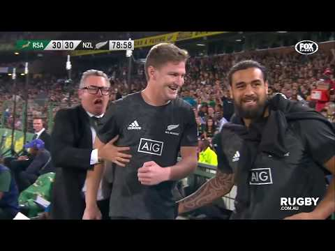 The Rugby Championship: South Africa vs All Blacks