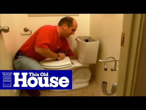 How To Install A New Toilet Flange This Old House Youtube